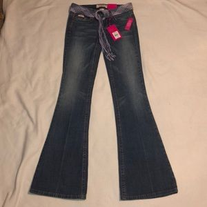 Candie's Flare Leg Stretch Jeans Size 0